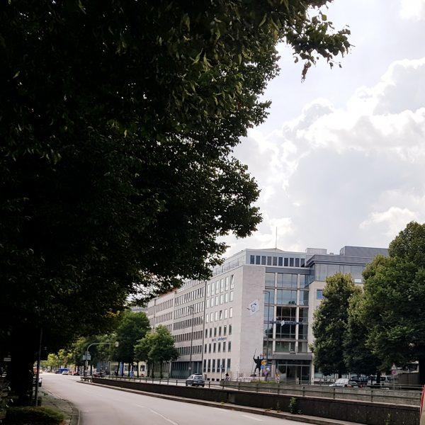 Die Bezirksverwaltung in der Prinzregentenstraße