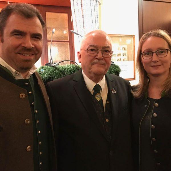 Mit MdB Florian Hahn und dem Landesschützenmeister